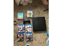 PS4 With 6 games excellent condition like new swap Nintendo switch