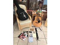 Yamaha F310 Acoustic Guitar Bundle