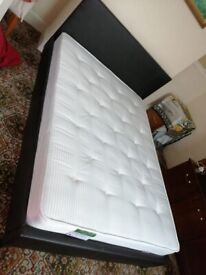 Double bed with mattress for sale £120