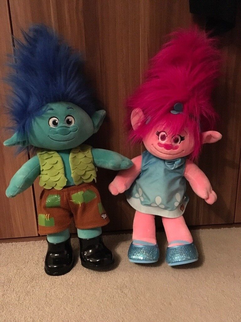 Trolls Build A Bear Soft Toys For Sale In Larbert Falkirk Gumtree Wrist Red