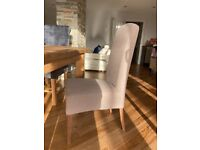 6 Dining room chairs for sale pick up only £60