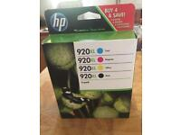 HP printer 4 colour pack