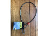 Kryptonite bike security cable for helmet/seat