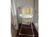 baby's highchair