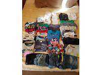 Bundle of boys clothes 12mth+