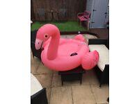 Giant flamingo inflatable