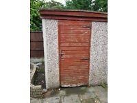 Garden Shed Concrete Panels Construction