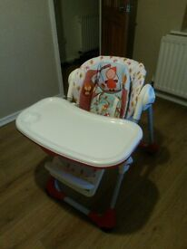 CHTCCO Polly 2 in 1 highchair