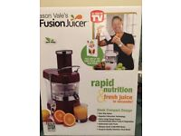 Brand new Fusion juicer