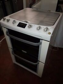 Electrolux EKG6046WN 60cm Freestanding GAS COOKER with Glass Lid