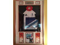 Chris Hoy signed shirt