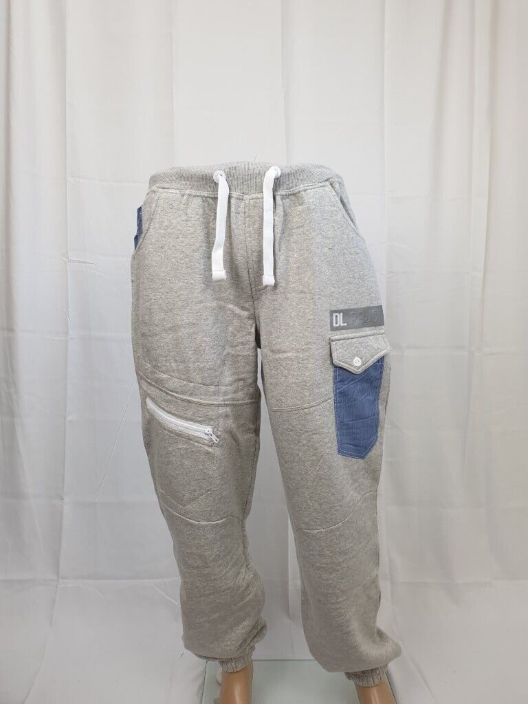 Mens DANIEL LEI PROJECT 86 Joggers Trousers Casual Track Pants