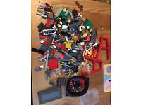 Lego and play mobile bits