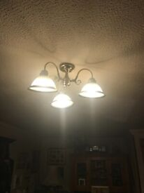 2 x matching ceiling lights