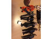 Action figures doctor who, Star Wars and scoring doo