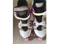 Girls Roller Skates size 13-3