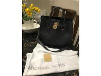 Michael Kors- Black Hamilton genuine Michael Kors Handbag
