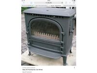 Multi fuel wood burning stove quick sale