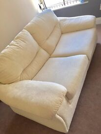 Cream Double Sofa in Great Condition!!!