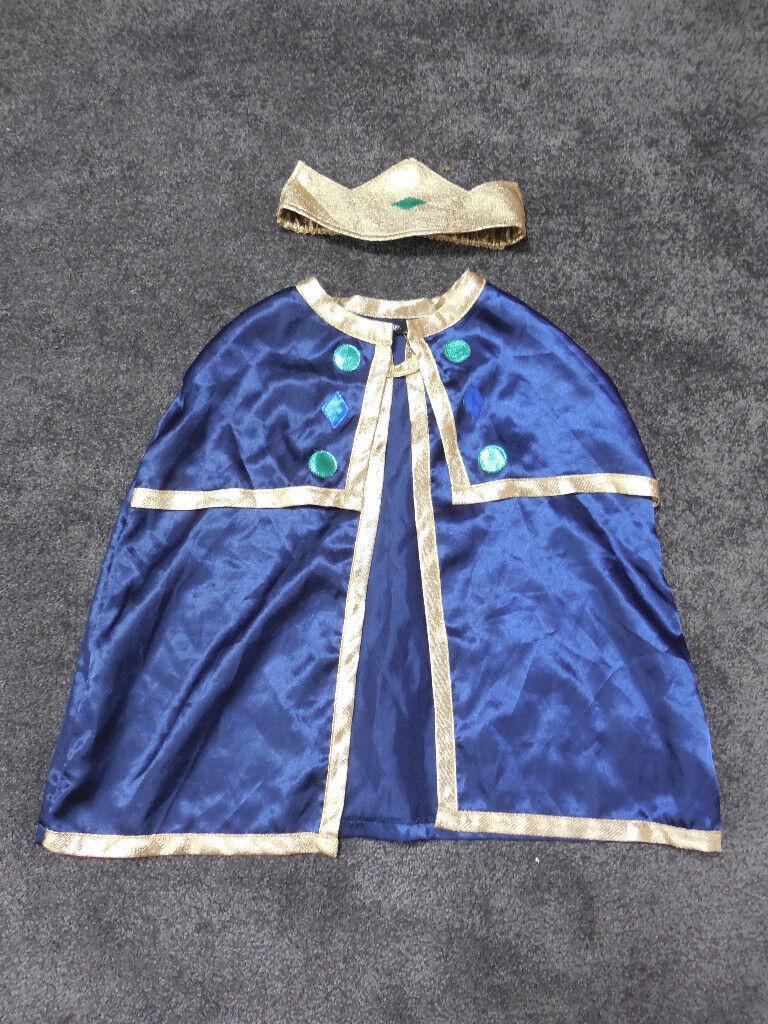 Boys King nativity costume 3-4 years