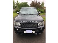 "Range Rover sports full hst body kit black 22"" alloys cream leather eye catching motor must be seen"