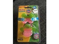 New nuby soothing teethers