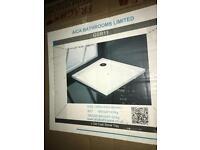 Slim line shower tray 1000mm x1000mm x30mm