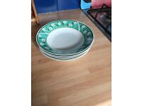 SET OF 5 BOWLS - VGC