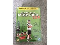 Brand new diary of a wimpy kid 1,2&3