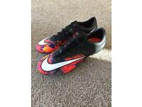Nike CR7 mercurial football boots. Size 8.5 adult