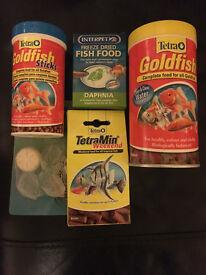 Job lot: Aquarium accessories, fish food, pumps, ornaments, water treatments etc!