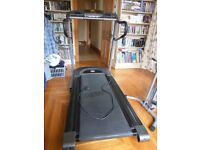 Horizon Treadmill with Polar Heart Rate Technology.