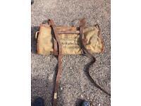 Vintage military kit bag