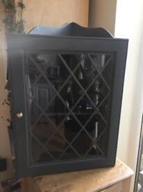 Lovely corner cupboard / glass display storage