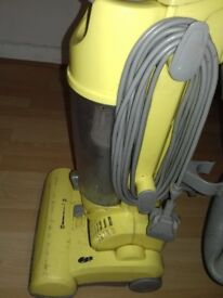 Bagless upright vacuum cleaner . Good working condition