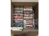 207 dvds and xbox games