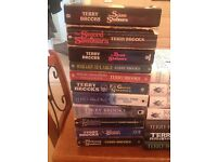 Terry Brooks Collection Paperback & Hardback Books 25 in total!