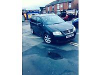 Volkswagen Touran 2.0 PD-TDI (PD150) Year 2004 7 Seater £1100 Or Swap