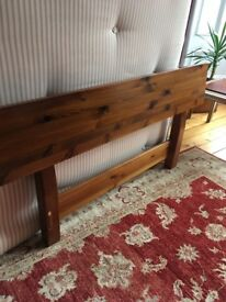 Free double bed (base and mattress)