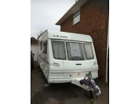 Lunar Caravan 2000 LX With end shower &a toilet. Selling due to health reasons.