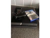 Sony PS4 500gb With 1 Controller And 2 Games