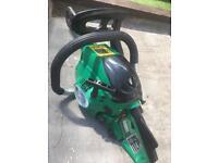 Garden petrol power chainsaw Wsm
