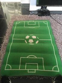 Kids football mat