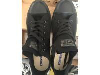 Band New Size 7 Black Chuck Taylor Converse