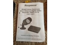 Responce Wired Colour Camera CCTV.