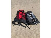 Ruck sacks really good condition bags