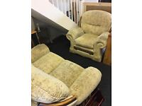 2 seater and recliner chair free must collect from jarrow