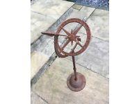 Garden ornamental sundial