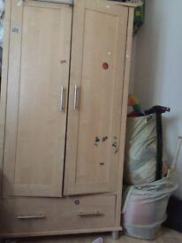 Mamas & papas wardrobe & changing table