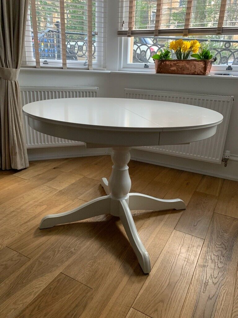 Round extendable table from Ikea | in West End, Glasgow ...